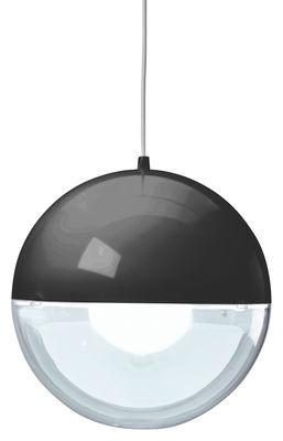 Leuchten - Pendelleuchten - Orion Pendelleuchte - Koziol - Schwarz / Kristall - Styropor