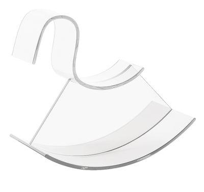 Möbel - Möbel für Kinder - H-Horse Schaukelpferd - Kartell - Transparent (farblos) - Polykarbonat