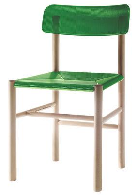 Arredamento - Sedie  - Sedia Trattoria Chair di Magis - Verde - Faggio, policarbonato