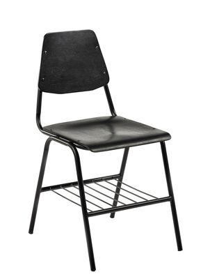 Möbel - Stühle  - Studio Simple Stuhl / Metall & Eiche - Serax - Schwarz - bemalte Eiche, bemaltes Metall