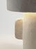 Earth Tischleuchte / Recyceltes Pappmaché - 36 x 23 x H 54 cm - Serax