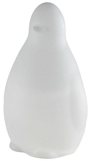 Dekoration - Für Kinder - Koko Tischleuchte / H 45 cm - Slide - Weiß - recycelbares Polyethen