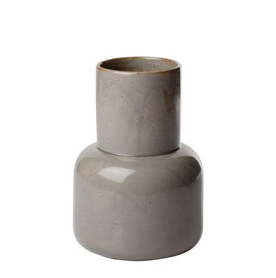 Vase Small / H 17 cm - Faïence Japonaise - Fritz Hansen gris mousse en céramique