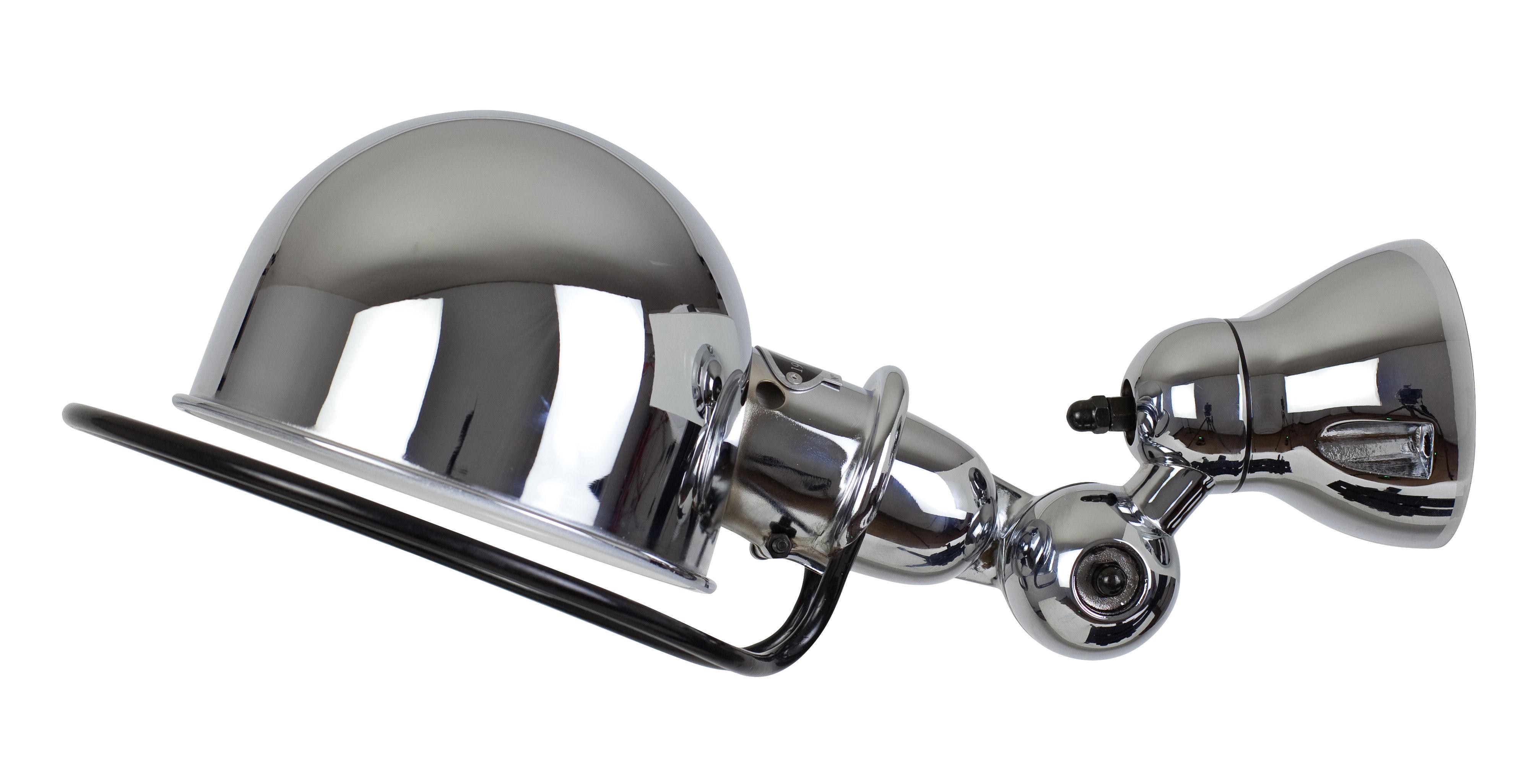 Luminaire - Appliques - Applique Loft Ø 15 cm - Jieldé - Chromé brillant - Acier inoxydable chromé