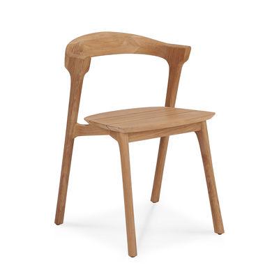 Mobilier - Chaises, fauteuils de salle à manger - Chaise Bok Outdoor / Teck - Ethnicraft - Teck - Teck massif