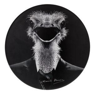 Möbel - Möbel für Teens - Tam Tam Renoma Mythologie Hocker Vogel Strauß - Stamp Edition - Vogel Strauß - Polypropylen