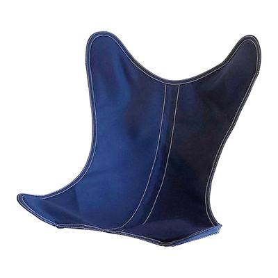 Mobilier - Fauteuils - Housse Coton OUTDOOR / Pour fauteuil AA Butterfly - AA-New Design - Bleu encre - Coton traité pour l'extérieur