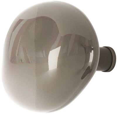 Patère Bubble Large / Ø 15 cm - Verre soufflé bouche - Petite Friture gris en verre
