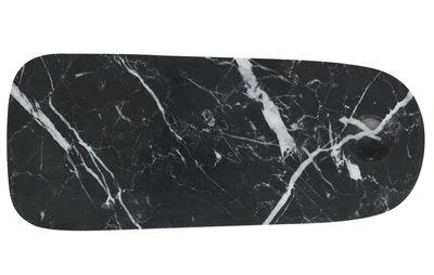 Planche à découper Pebble Small / Plateau fromages - Marbre - Normann Copenhagen noir en pierre