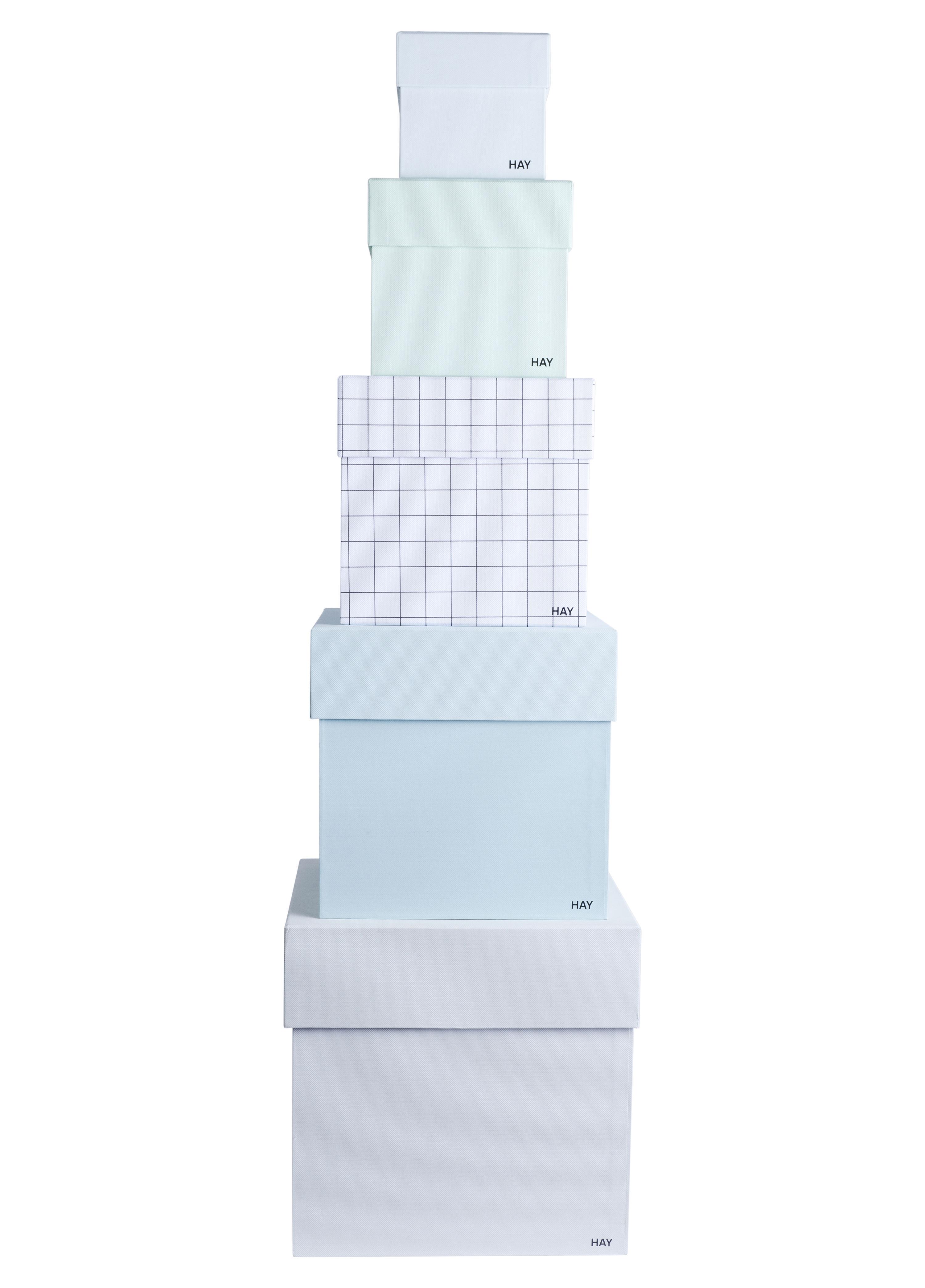 ... Accessori moda - Accessori ufficio - Scatola Box Box - lotto da 5  scatole di Hay f1d793164306