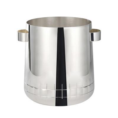 Seau à champagne Graphik - Christofle argent/métal en métal