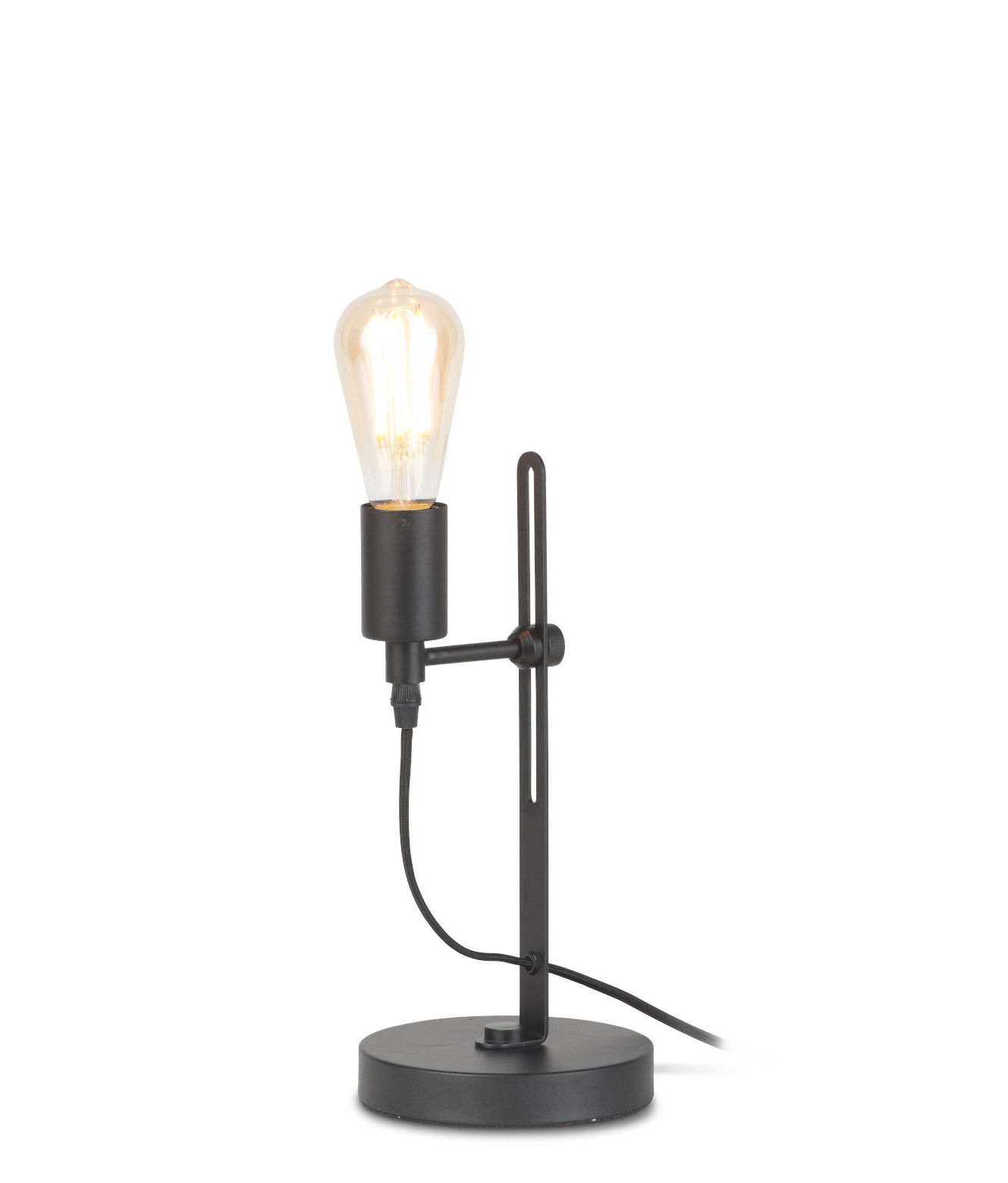 Lighting - Table Lamps - Seattle Table lamp - / Adjustable height by It's about Romi - Black - Iron