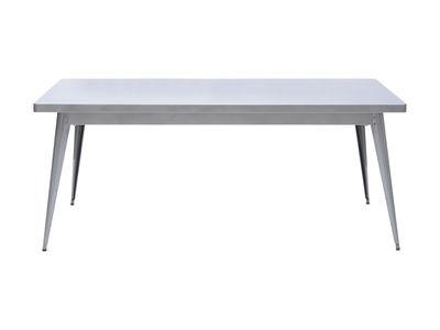 Table rectangulaire 55 / 130 x 70 cm - Pieds métal - Tolix métal en métal