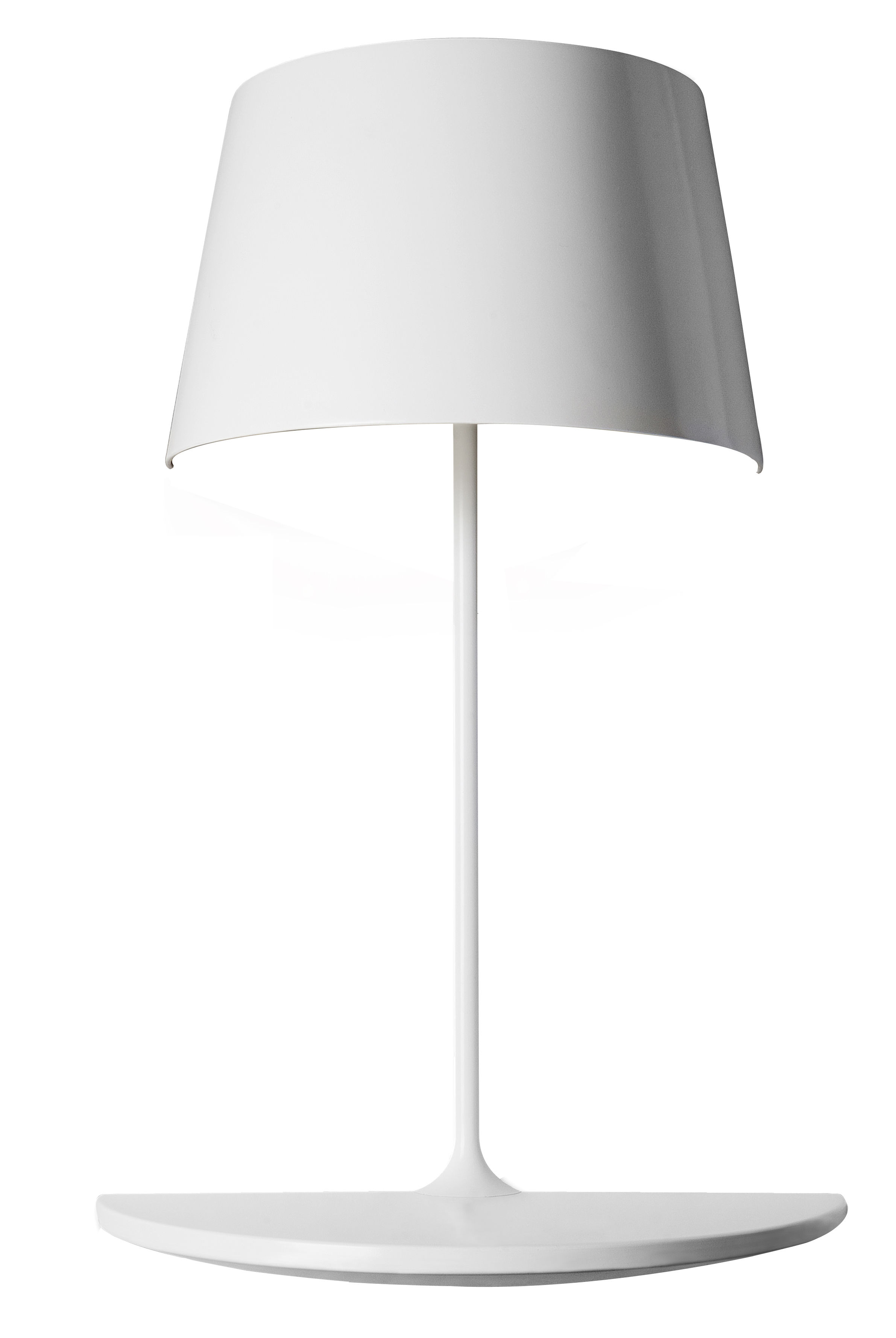 Furniture - Bookcases & Bookshelves - Ilusion Half Wall light - Shelf by Northern  - White - Aluminium, Steel