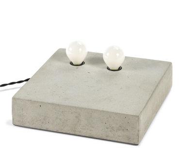 Applique Essentials n°2 / Applique - Béton - 25 x 25 cm - Serax gris en pierre