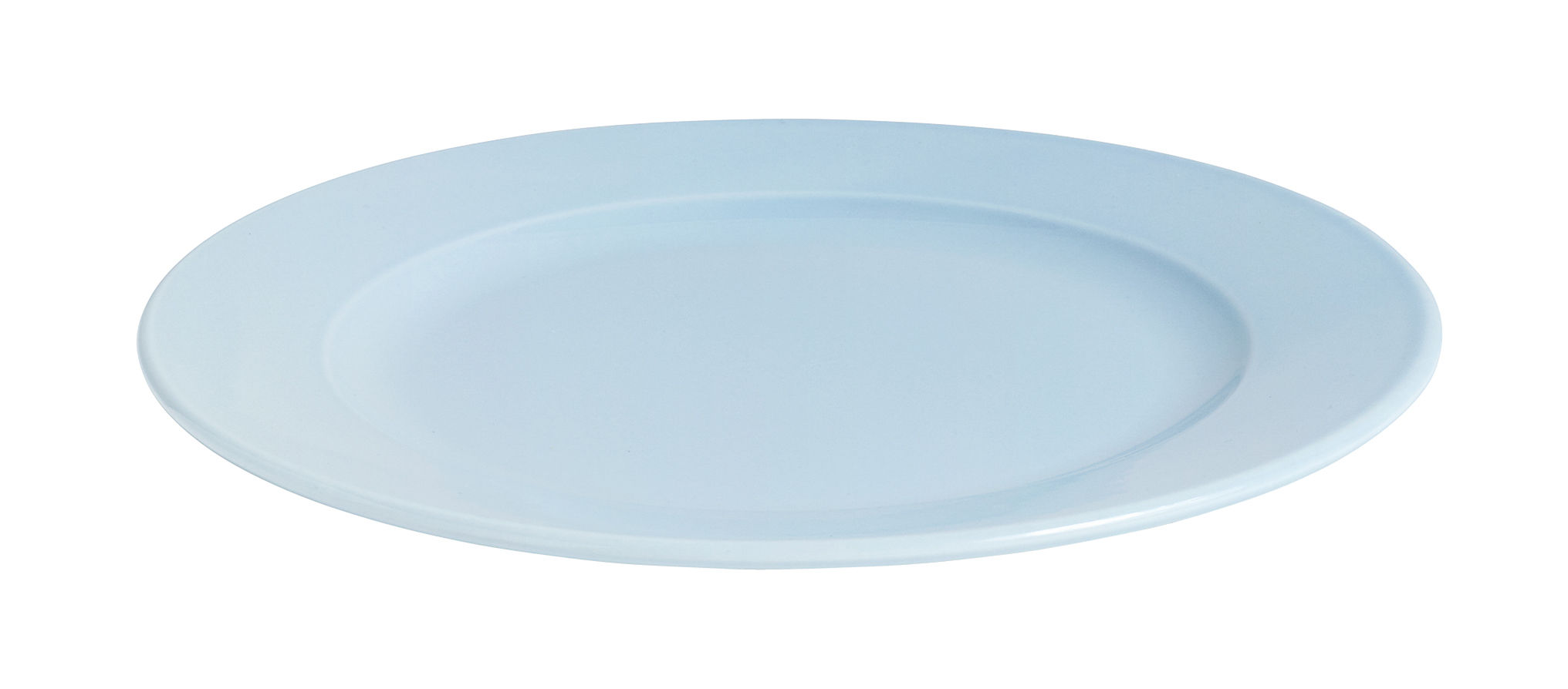 Arts de la table - Assiettes - Assiette Rainbow / Ø 24 cm - Porcelaine - Hay - Bleu clair - Porcelaine
