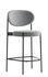 Series 430 Bar stool - / Rembourré - Tissu - H 65 cm by Verpan