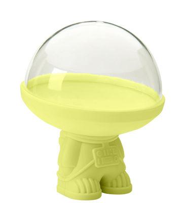 Boîte hermétique Astro / Pour fruits entamés - Pa Design vert anis en matière plastique