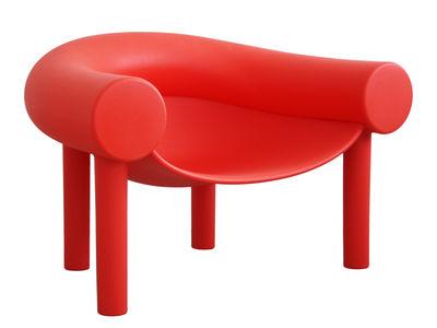 Fauteuil bas Sam Son / Plastique - Magis rouge en matière plastique