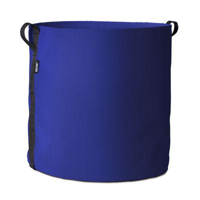 Furniture - Miscellaneous furniture - Batyline® Flowerpot - / Outdoor - 100 L by Bacsac - Indigo - Batyline® fabric
