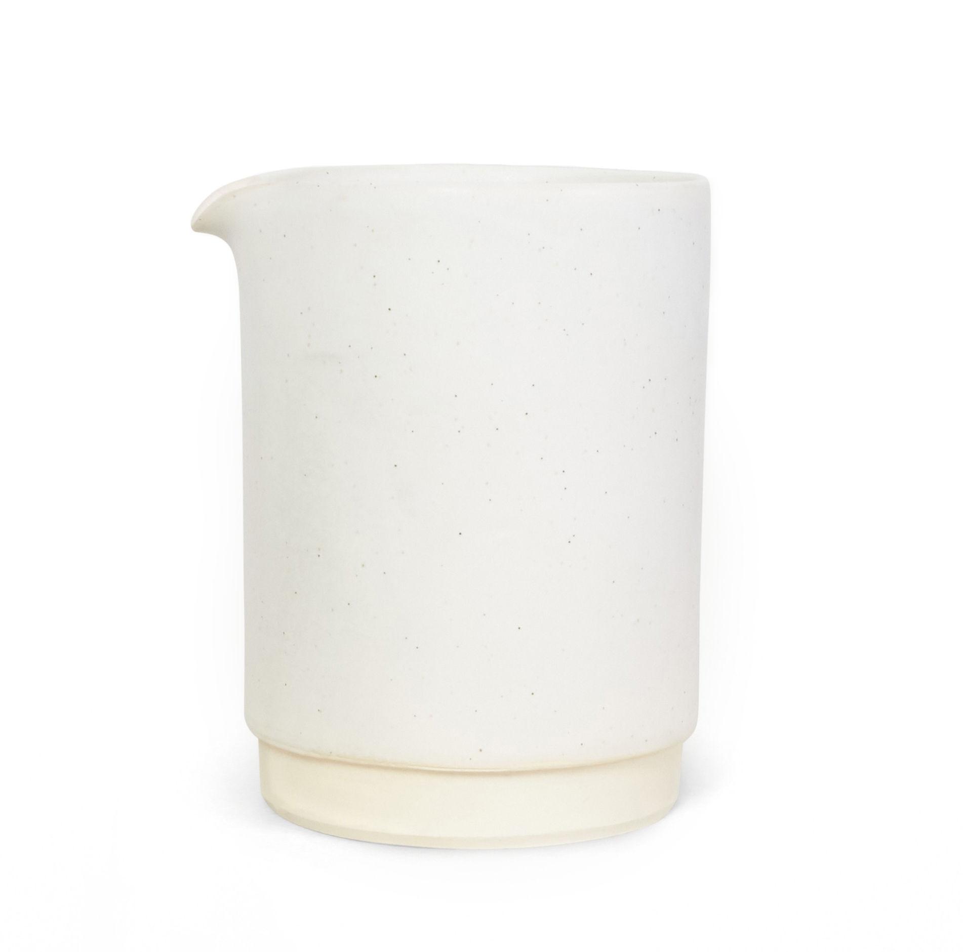 Tischkultur - Karaffen - Otto Large Karaffe / Ø 11 x H 15 cm - Frama  - Weiß - emaillierter Sandstein