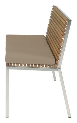 kissen f r die sitzbank home auflage sand by viteo made in design. Black Bedroom Furniture Sets. Home Design Ideas