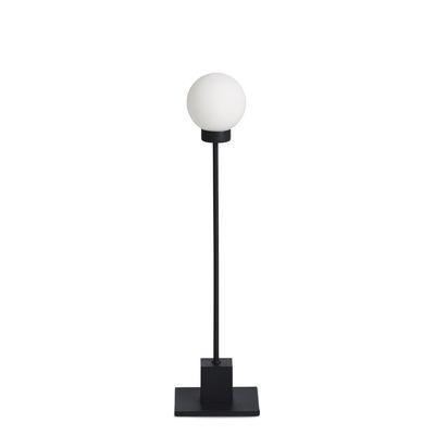 Image of Lampada da tavolo Snowball - / Vetro & Metallo - H 41 cm di Northern - Nero - Metallo/Vetro