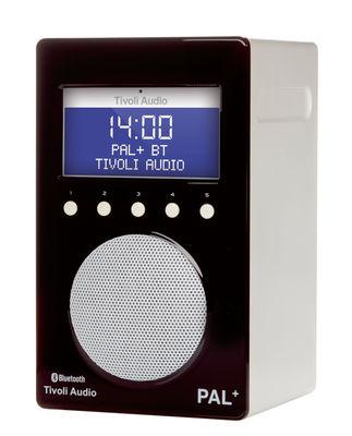 Radio Pal + BT / Enceinte portative Bluetooth - Tuner digital - Tivoli Audio blanc,noir brillant en matière plastique