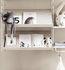 Scaffale String System - Legno / Portariviste & scarpe - L 58 cm di String Furniture