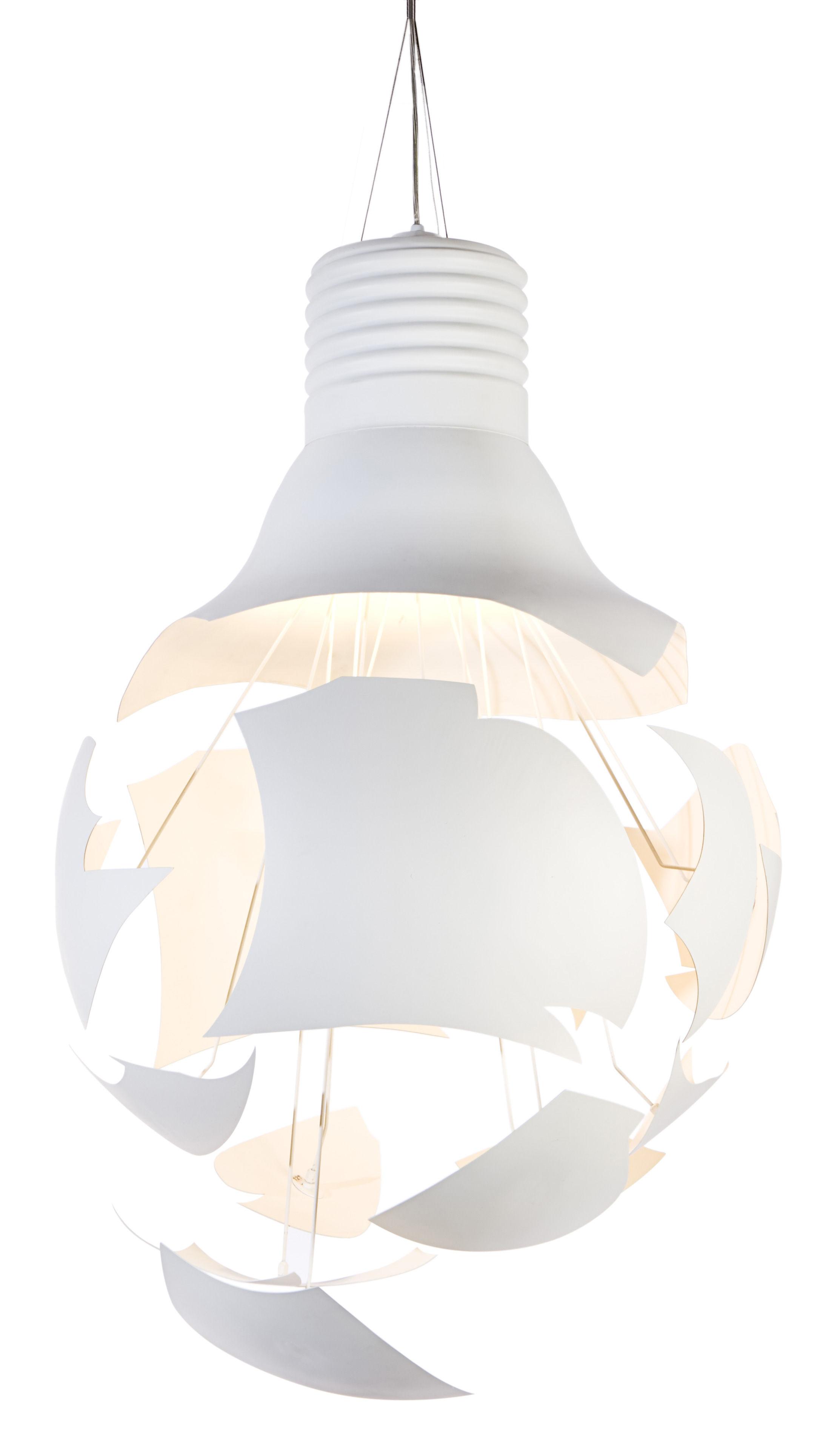 Illuminazione - Lampadari - Sospensione Scheisse di Northern  - Bianco - Acciaio laccato