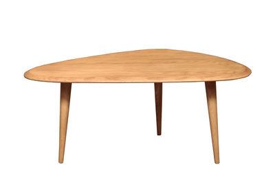 Table basse Small / 85 x 53 cm - Laque - RED Edition chêne naturel en bois
