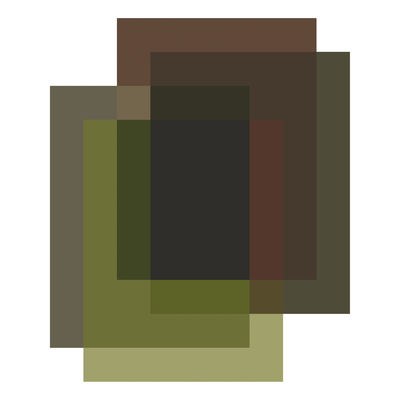 Interni - Tappeti - Tappeto Blended - / 4 colori - 330 x 400 cm di Moooi Carpets - Verde Argilla - Poliammide