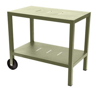 Möbel - Beistell-Möbel - Quiberon Ablage / Grillablage - Fermob - Linde - Aluminium, Stahl