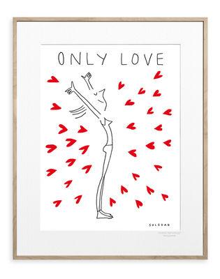 Déco - Stickers, papiers peints & posters - Affiche Soledad - Only Love / 30 x 40 cm - Image Republic - Only Love - Papier