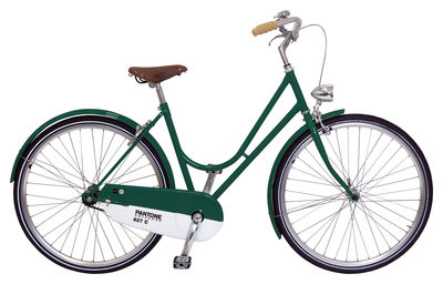 Accessories - Home Accessories - Pantone Bike - Bicycle by Abici - 627C - Green - Aluminium, Leather, Steel