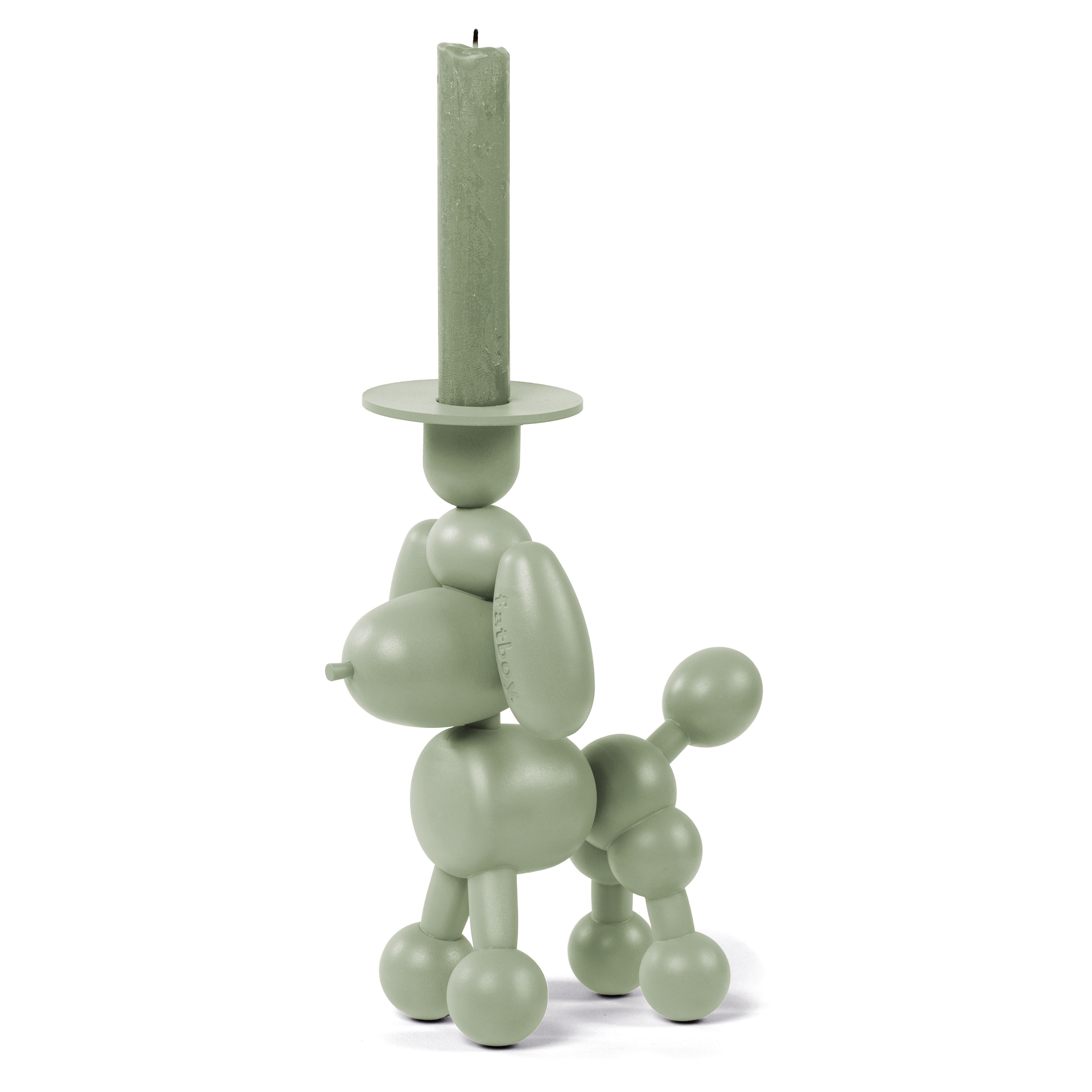 Decoration - Candles & Candle Holders - Can-dolly Candle stick - / Aluminium by Fatboy - Green - Aluminium