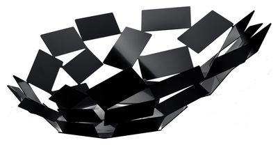 Centre de table La Stanza dello Scirocco / Ø 41 x H 15 cm - Alessi noir en métal