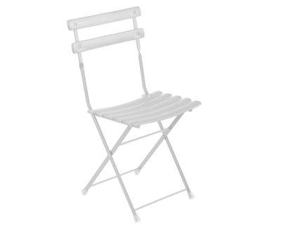 Chaise pliante Arc en Ciel / Métal - Emu blanc en métal
