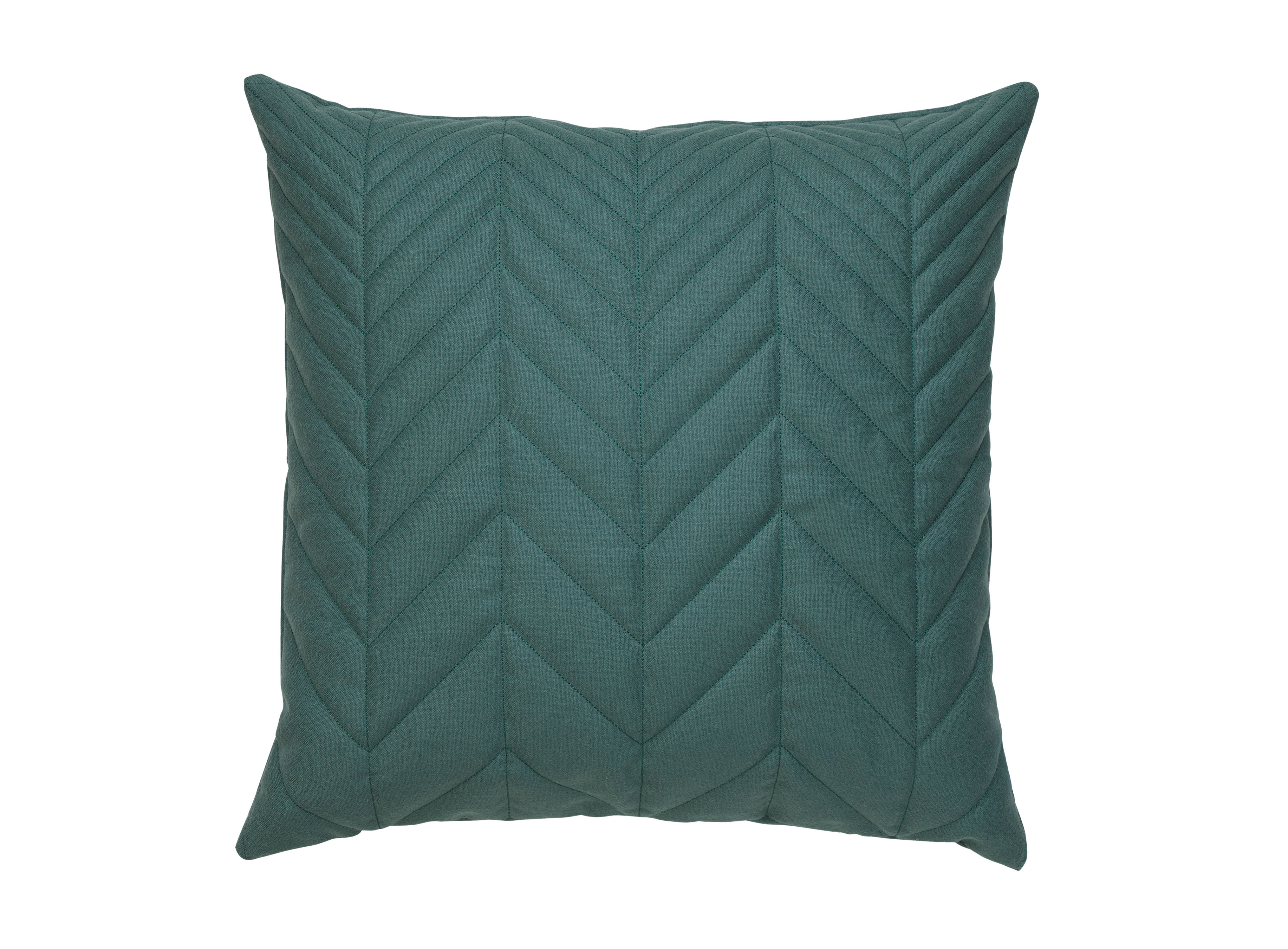 Decoration - Cushions & Poufs - Case Cushion - / 50 x 50cm by Northern  - Green -  Plumes, Wool