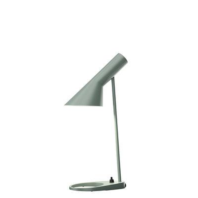 Lampe de table AJ Mini (1960) / H 43 cm - Louis Poulsen bleu pétrole clair en métal