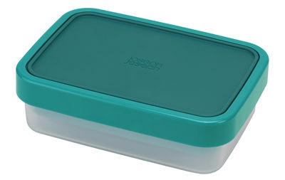 Lunch box GoEat / Set 2 boîtes empilables - Joseph Joseph bleu,transparent en matière plastique