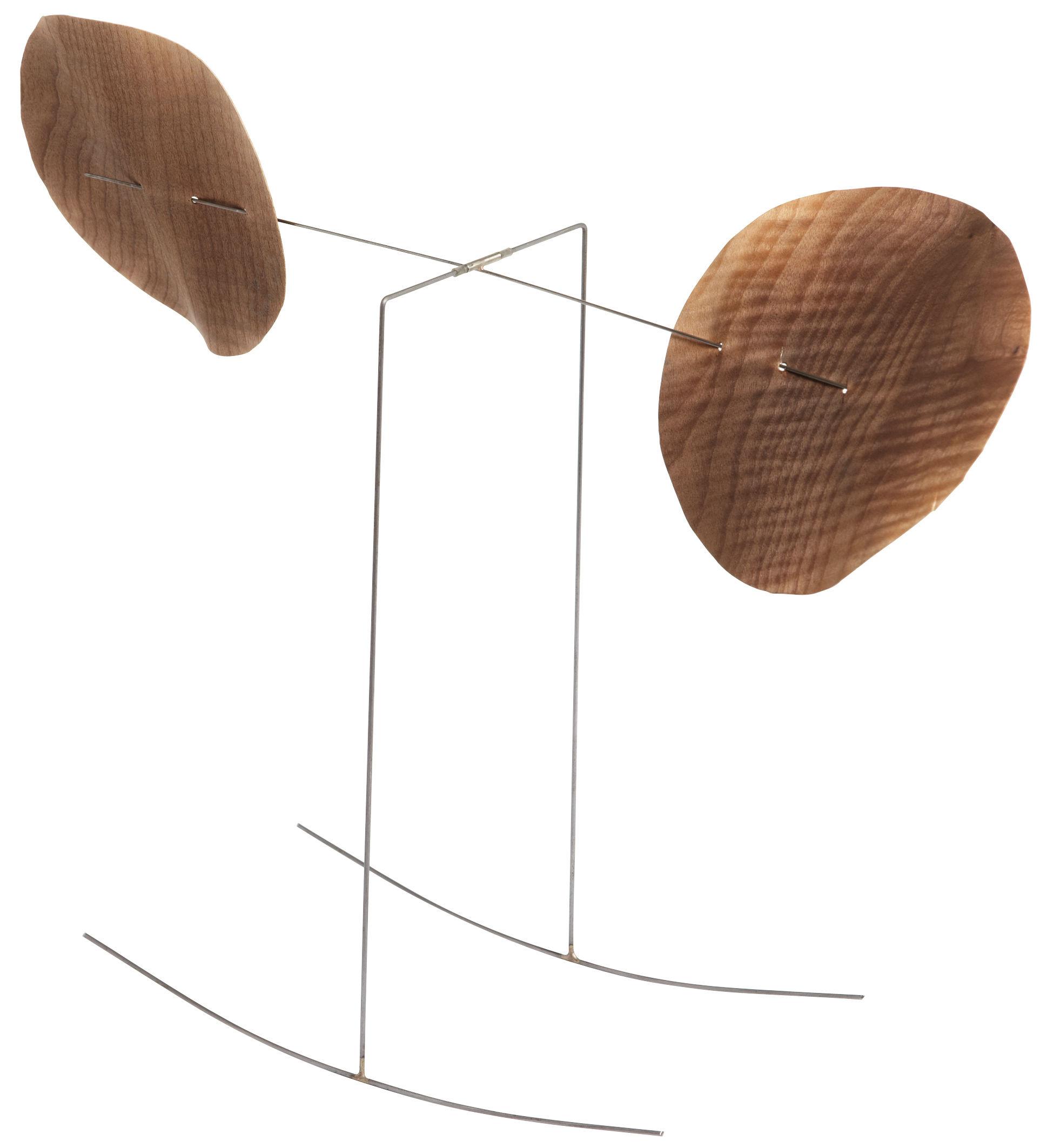 Déco - Objets déco et cadres-photos - Mobile à bascule / Edition limitée à 100 exemplaires et signée - L'atelier d'exercices - Frêne toasté - Corde à piano, Frêne