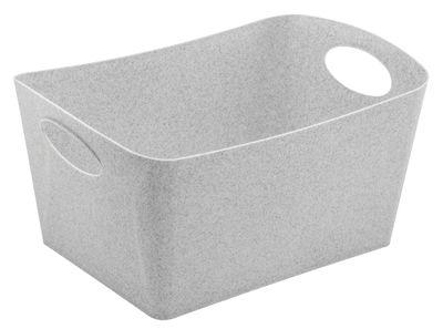 Déco - Pour les enfants - Panier Boxxx L / 15L - Koziol - Gris organique - Plastique organique