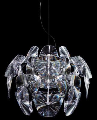 Leuchten - Pendelleuchten - Hope Pendelleuchte - Luceplan - Ø 61 cm - transparent - Polykarbonat