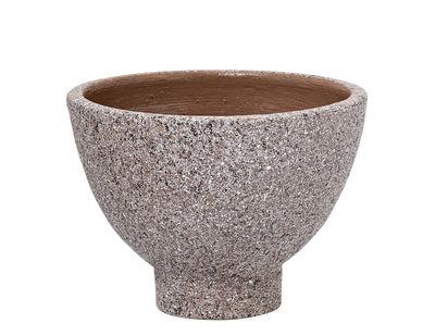 Déco - Pots et plantes - Pot de fleurs / Terracotta - Ø 18 x H 13 cm - Bloomingville - Moucheté marron - Terracotta