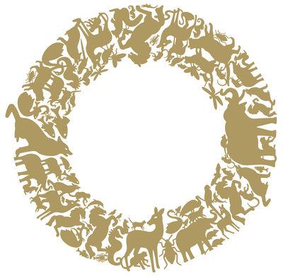 Interni - Sticker - Sticker Little Panthéon di Domestic - Oro - Vinile