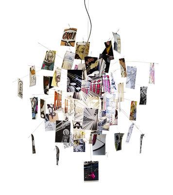 Suspension BangBoom! Zettel'z édition limitée - Ingo Maurer multicolore en métal