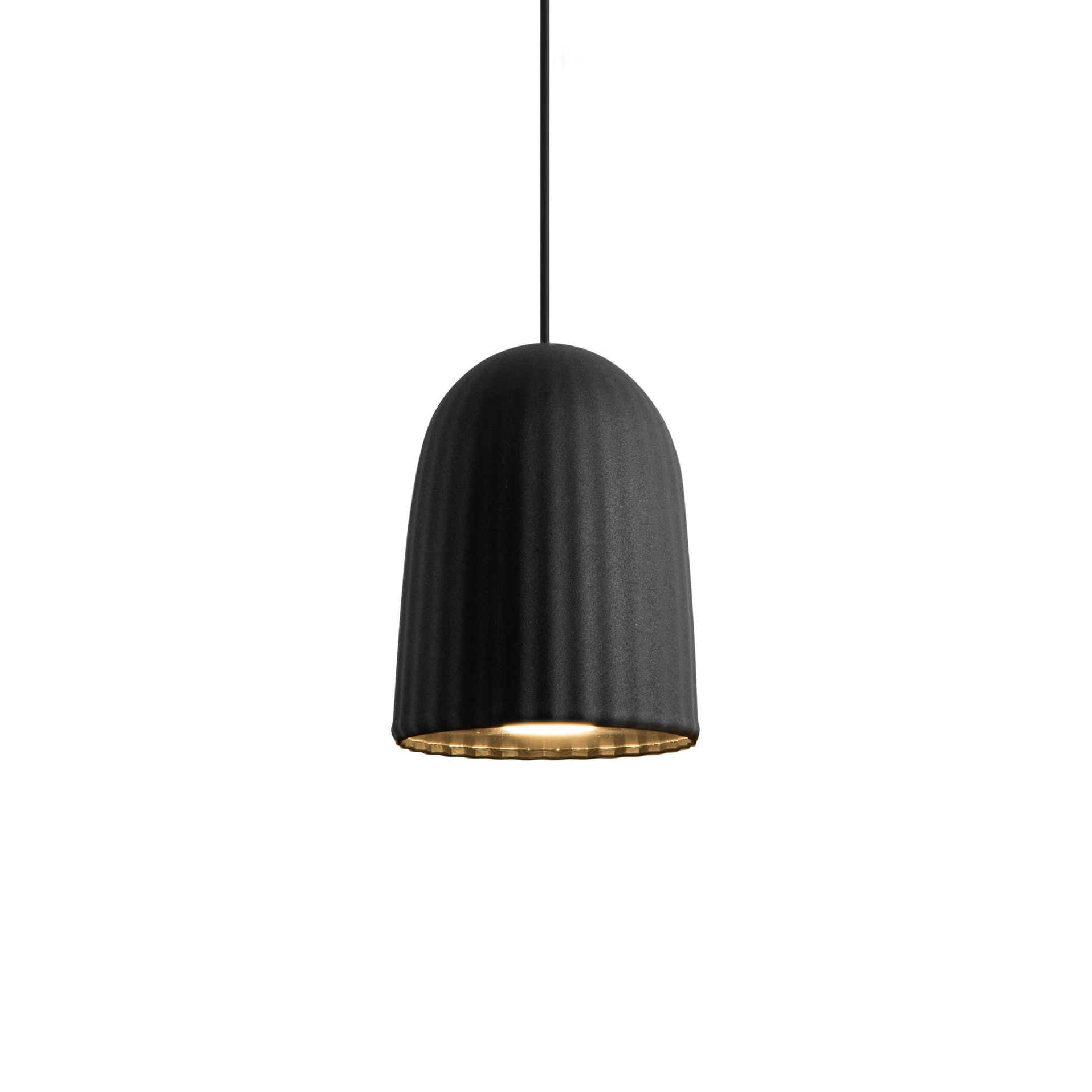 Luminaire - Suspensions - Suspension Chains Simple - Petite Friture - Noir - PVC