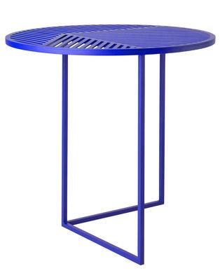 Table basse Iso-A / Ø 47 x H 44 cm - Petite Friture bleu en métal