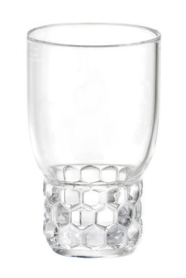 Verre Jellies Family / Medium - H 13 cm - Kartell cristal en matière plastique